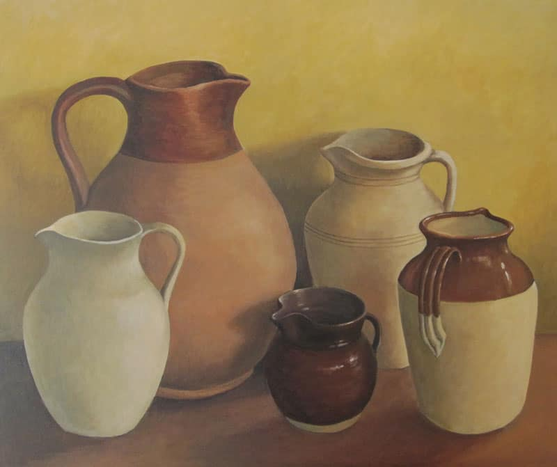 Still Life with Jugs Image
