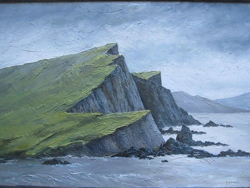 A Rocky Shoreline Image