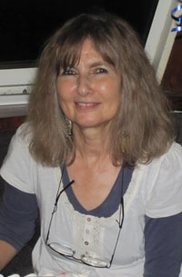 photo of Sandy Kendall, fine artist