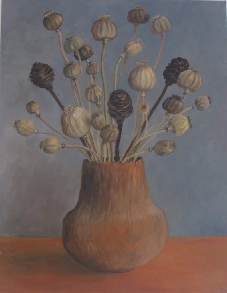 Poppy Seedheads Image