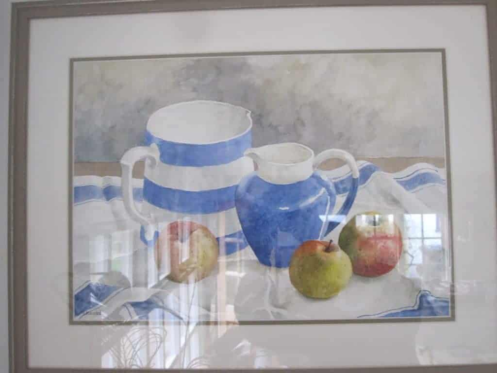Still life with Jugs and Apples Image