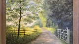 Country lane in Spring